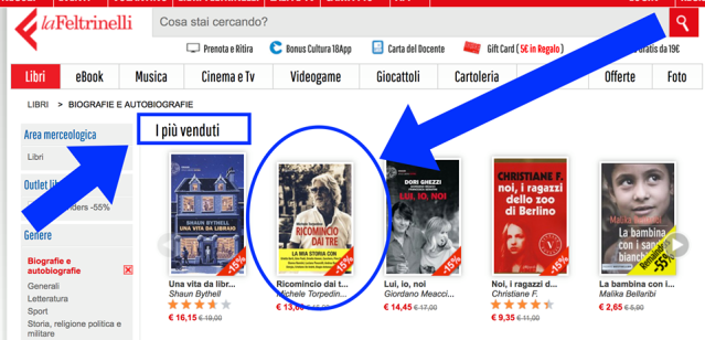 Feltrinelli Screenshot