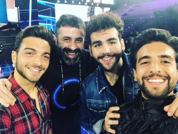 Luca Tommassini with IL VOLO
