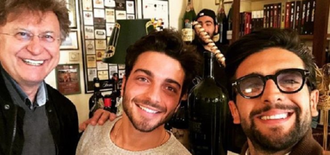 Red, Gian, Piero and Ignazio