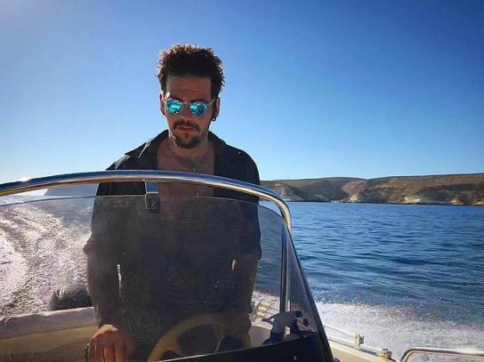 Ignazio in Boat 2