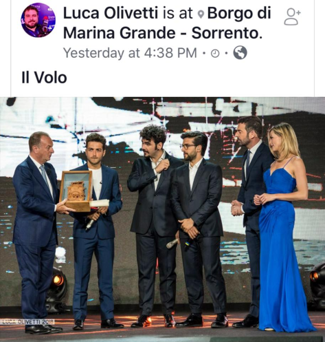 IL VOLO and award