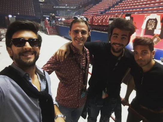 IL VOLO sound check