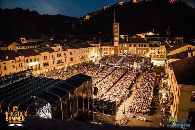 A Magnificent Concert:Marostica, by Daniela
