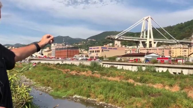 Bridge Collapse in Genoa, Italy